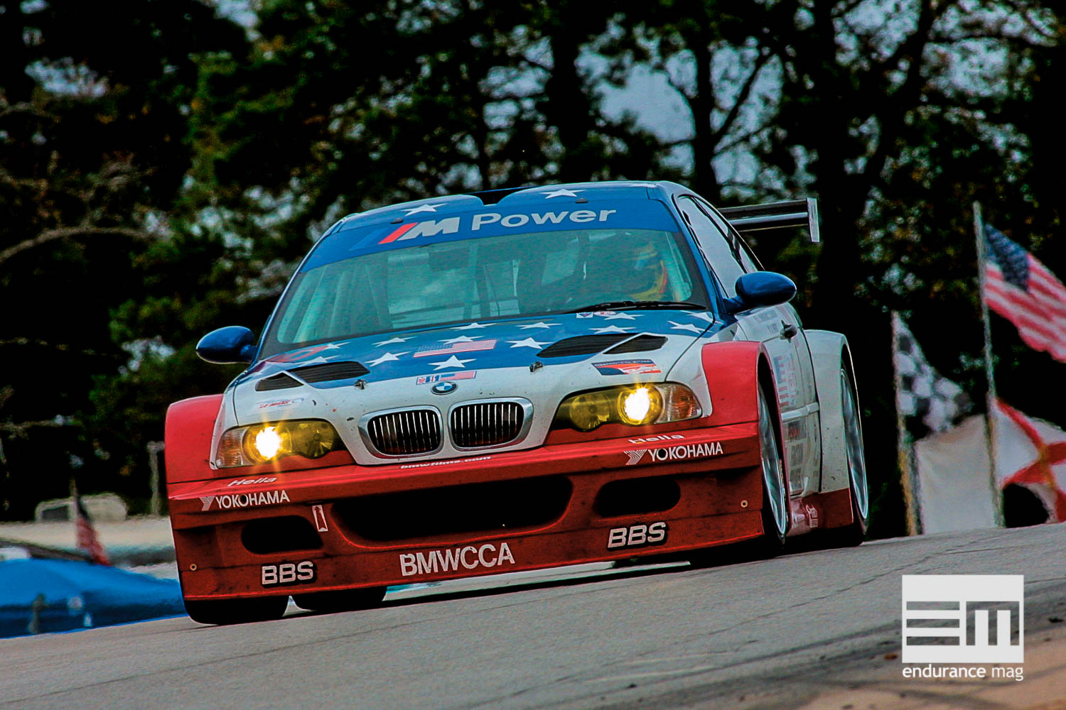ALMS 2001, Road Atlanta, BMW M3 GTR # 10