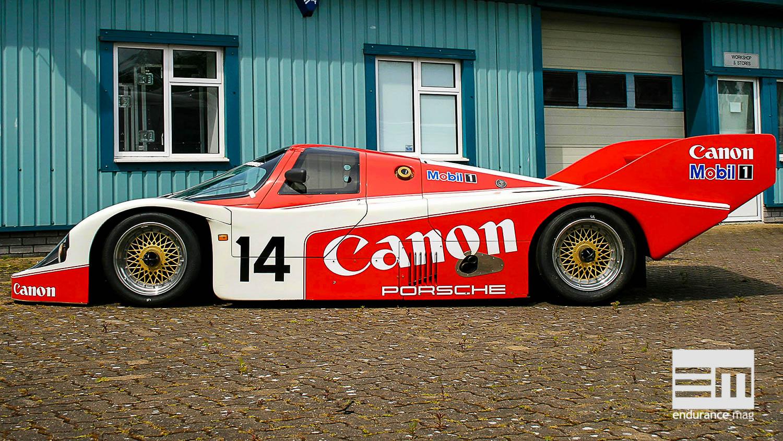 Richard Lloyd et la quête de la Porsche 956 parfaite
