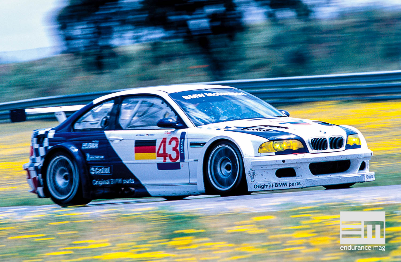 BMW M3 GTR V8, la bavaroise à la conquête des Etats-Unis