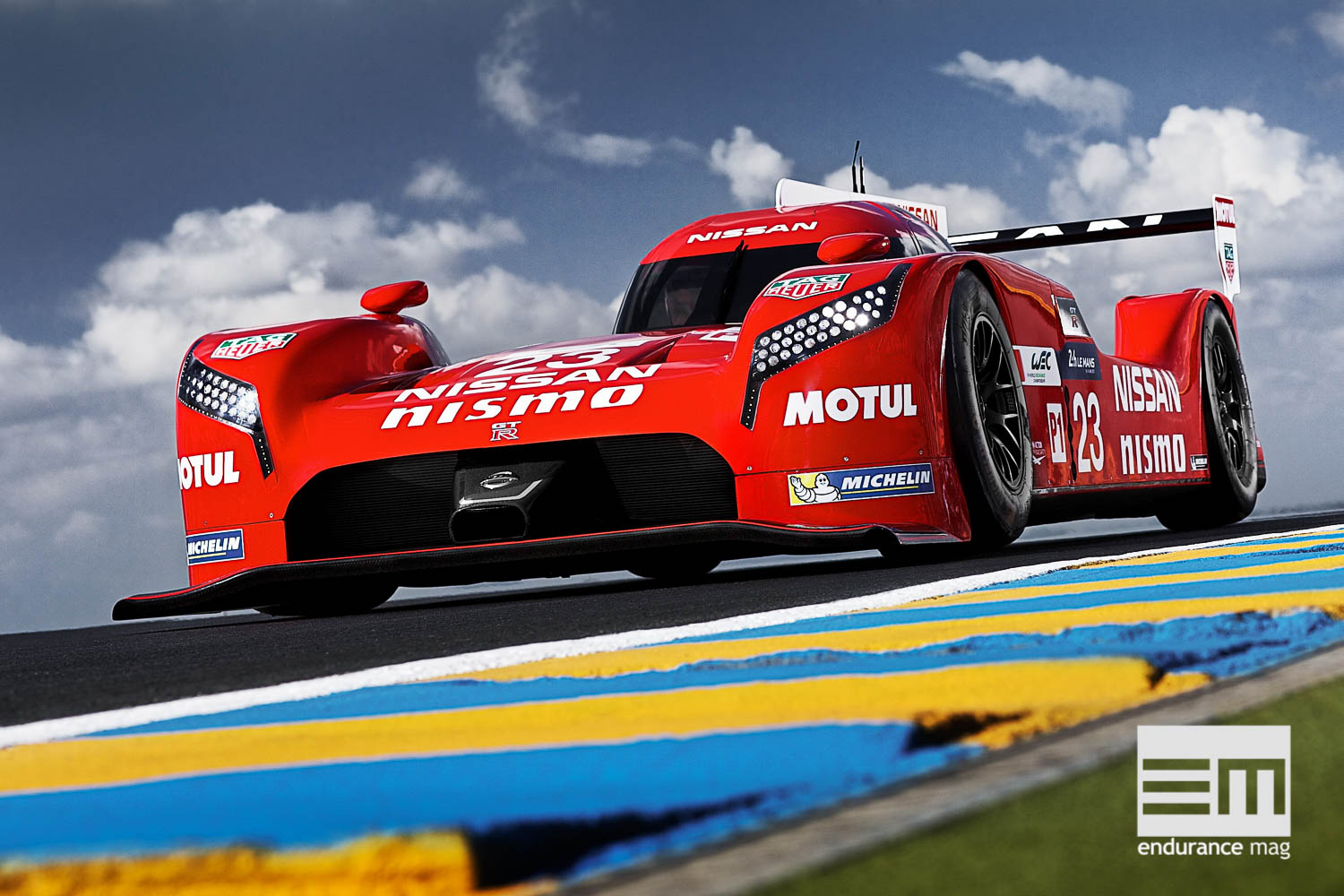 LE MANS, France (May 31, 2015) – Nissan today completed an extensive test program at Le Mans during the official test day. The three Nissan GT-R LM NISMOs were the first cars on track when the morning session went green, ready to work through a comprehensive test program to dial the cars into the unique Le Mans circuit.