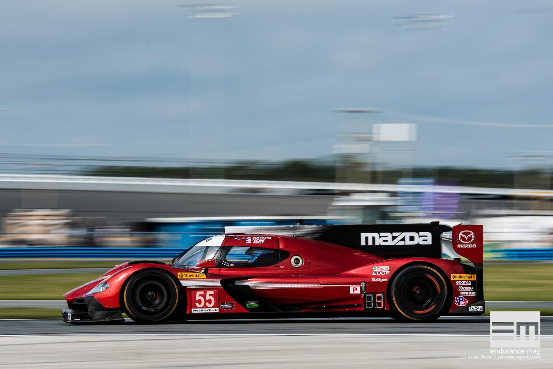 Mazda ne brille pas en qualification, mais la course pourrait être plus clémente si les autres DPi ont des soucis de fiabilité (Photo James Boone / Endurance Magazine)