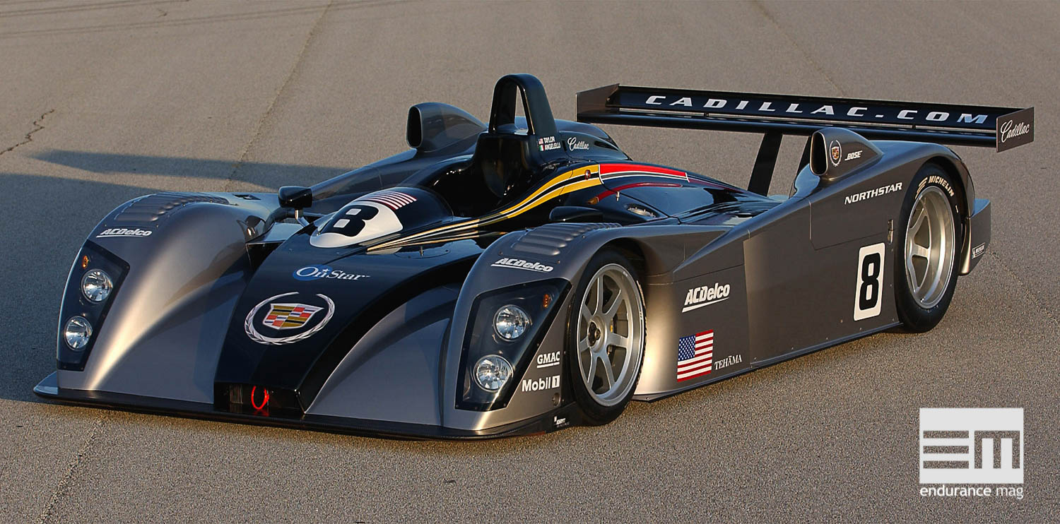 The Cadillac Northstar LMP 02 was unveiled at Sebring, Fla., Tuesday (1/15/02). The all-new LMP will compete in the 2002 Alms and the 24-Hours of Le Mans in France.
