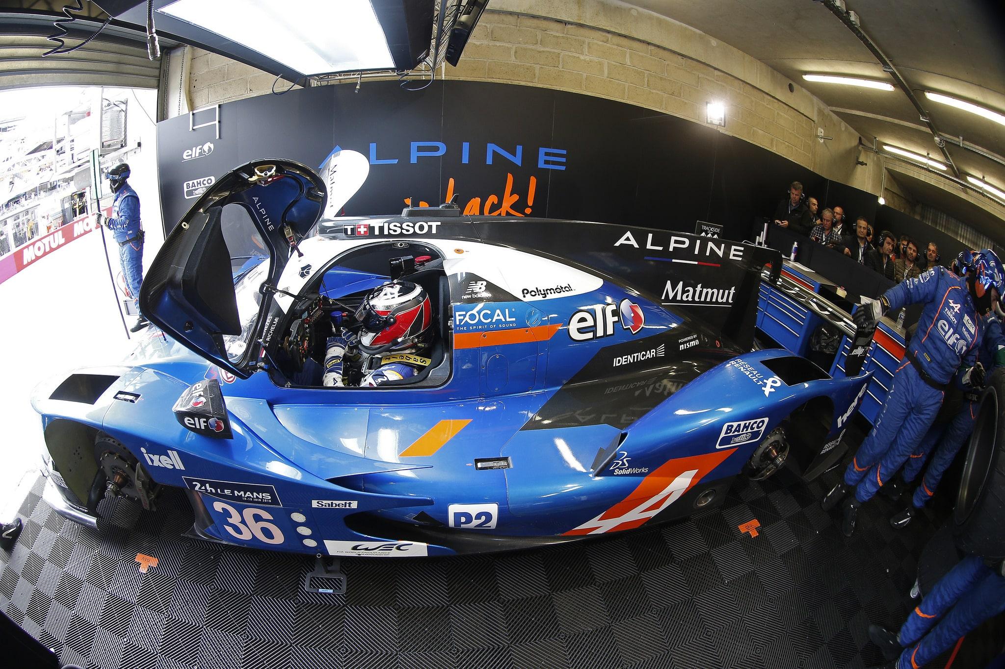 Stand Alpine Le Mans 2016, Jean Michel Le Meur / DPPI / Signatech Alpine
