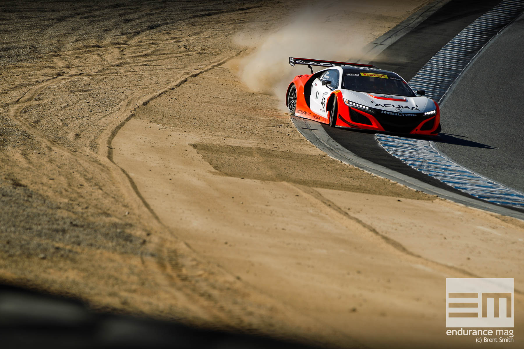 California 8 Hours - Intercontinental GT Challenge - Mazda Raceway Laguna Seca - 43 RealTime Racing, Ryan Eversley, Tom Dyer, Dane Cameron, Acura NSX GT3