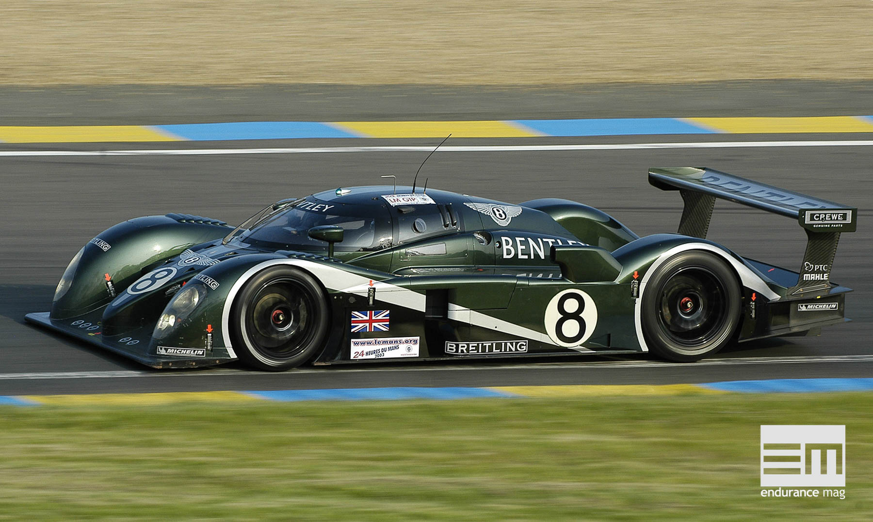 La Bentley Speed 8, dans sa configuration 2003