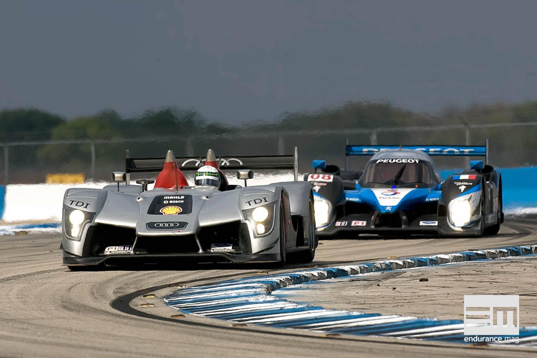 Audi R15, le record de la distance à Sebring dès la première participation