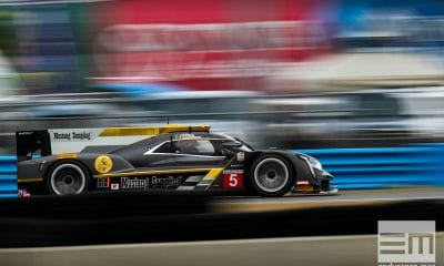 Rolex 24 at Daytona - IMSA WeatherTech SportsCar Championship - Daytona International Speedway - 5 Mustang Sampling Racing, Cadillac DPi, Joao Barbosa, Filipe Albuquerque, Christian Fittipaldi
