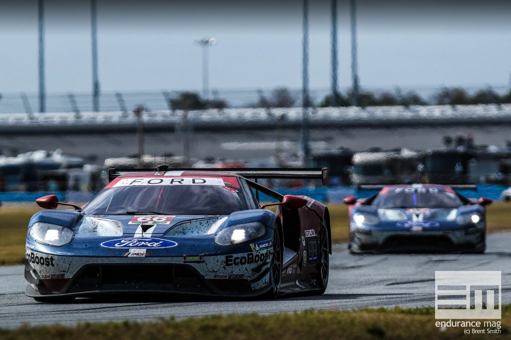 Rolex 24 at Daytona - IMSA WeatherTech SportsCar Championship - Daytona International Speedway - 66 Ford Chip Ganassi Racing, Ford GT, Dirk Mueller, Joey Hand, Sebastien Bourdais