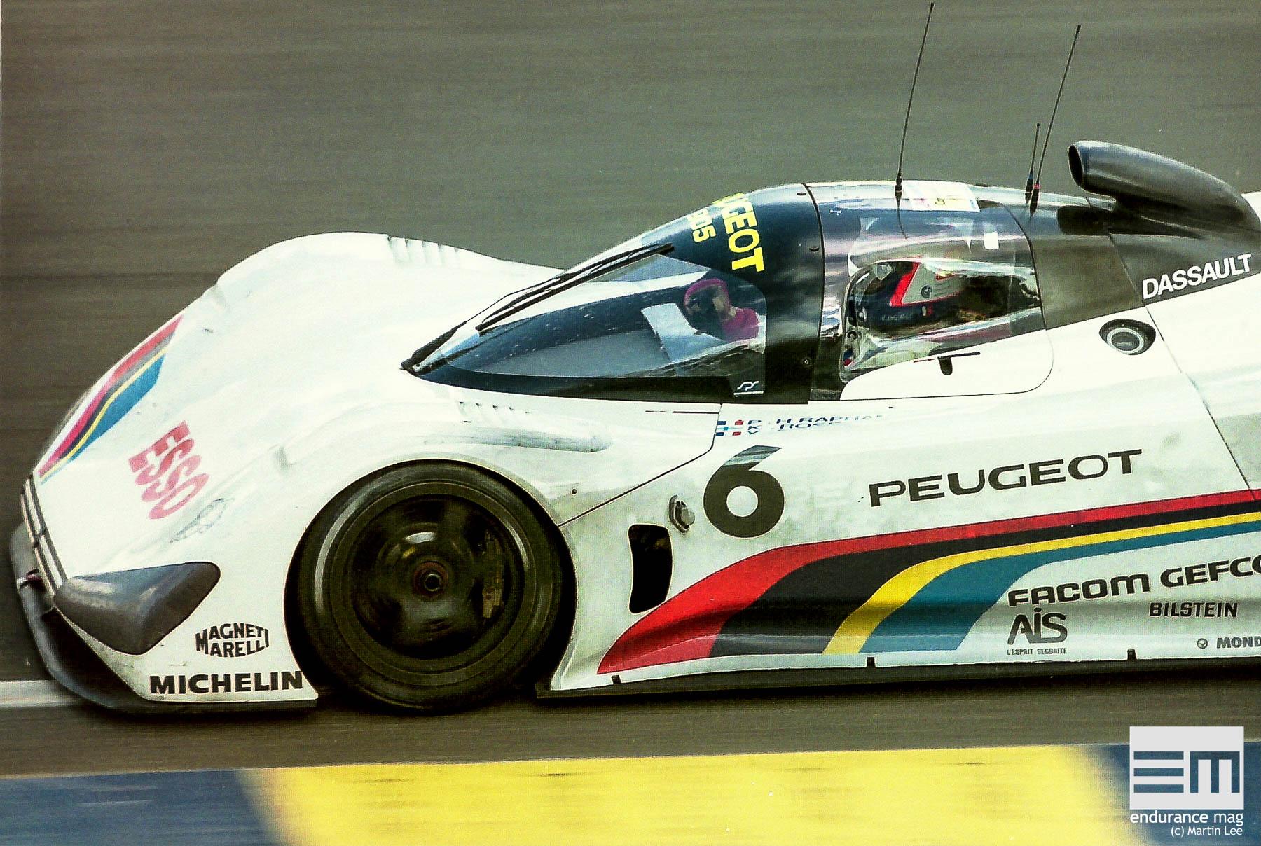Peugeot au Mans : 1991, la découverte brutale