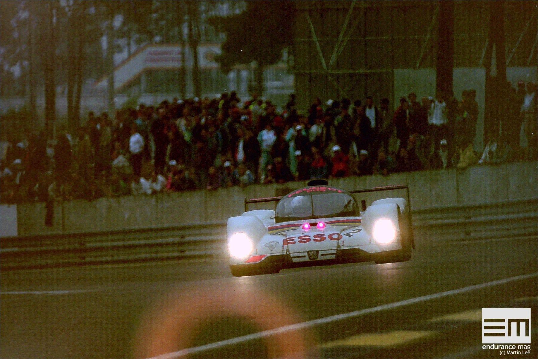 Peugeot au Mans : 1992, déjà la victoire