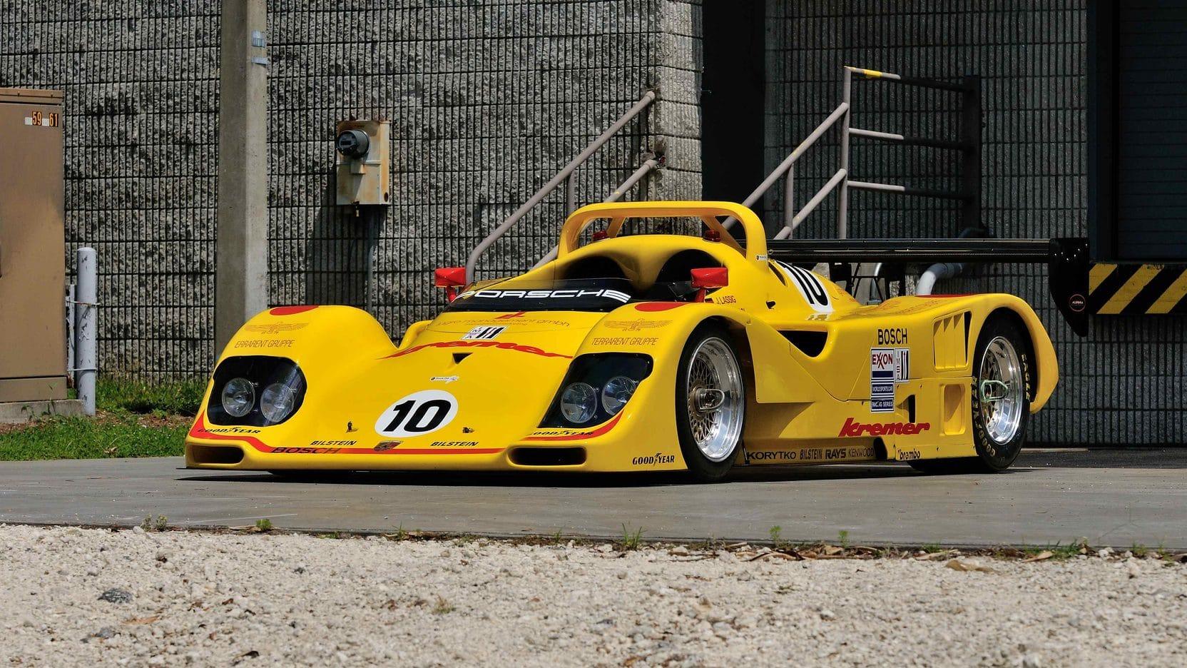 Porsche K8 Spyder, l'ultime délire des frères Kremer