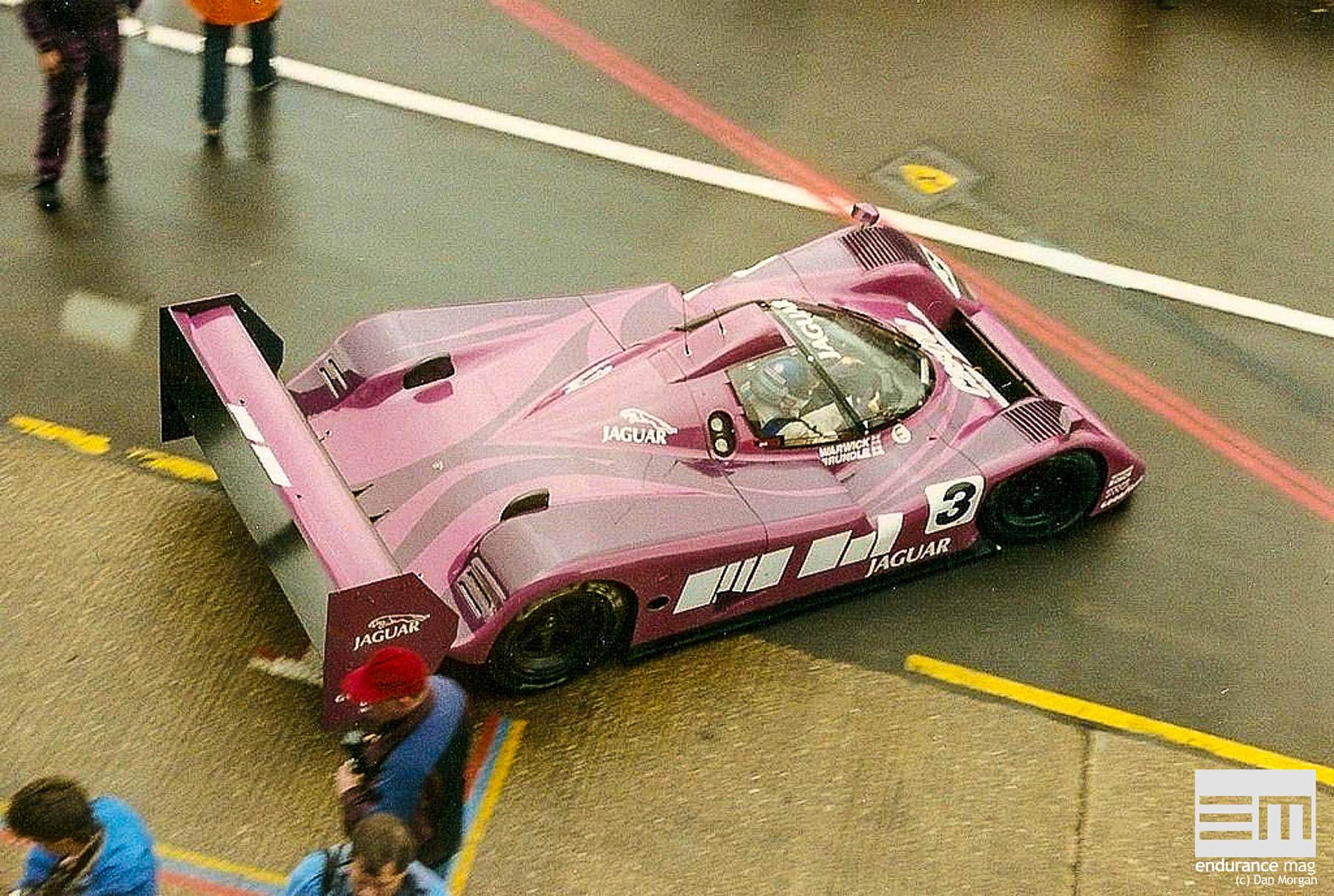 Jaguar XJR-14, la grosse Formule 1