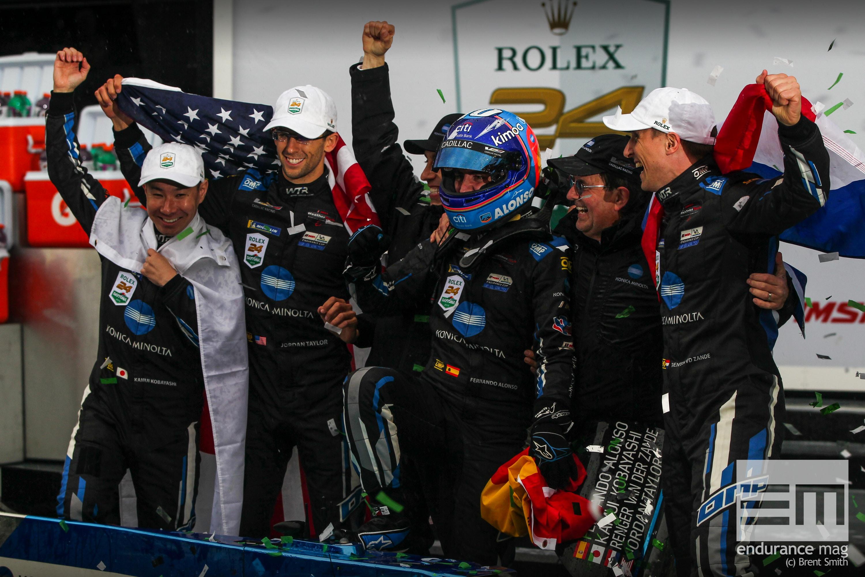 Cadillac remporte les 24 Heures de Daytona 2019, Fernando Alonso décisif