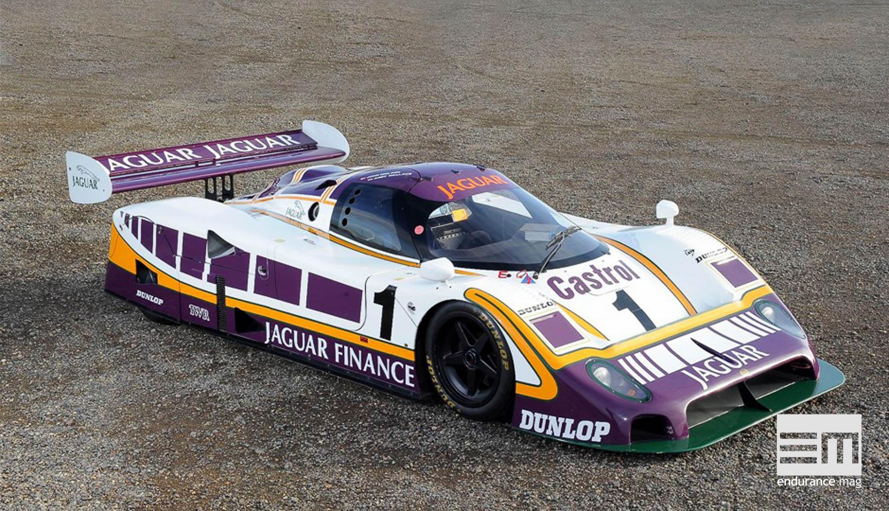 Jaguar XJR-9, la digne héritière du trône (Le Mans 1988)