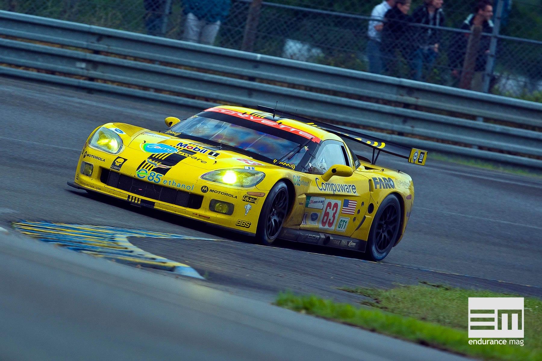 Corvette C6R : une américaine hors-catégories en endurance