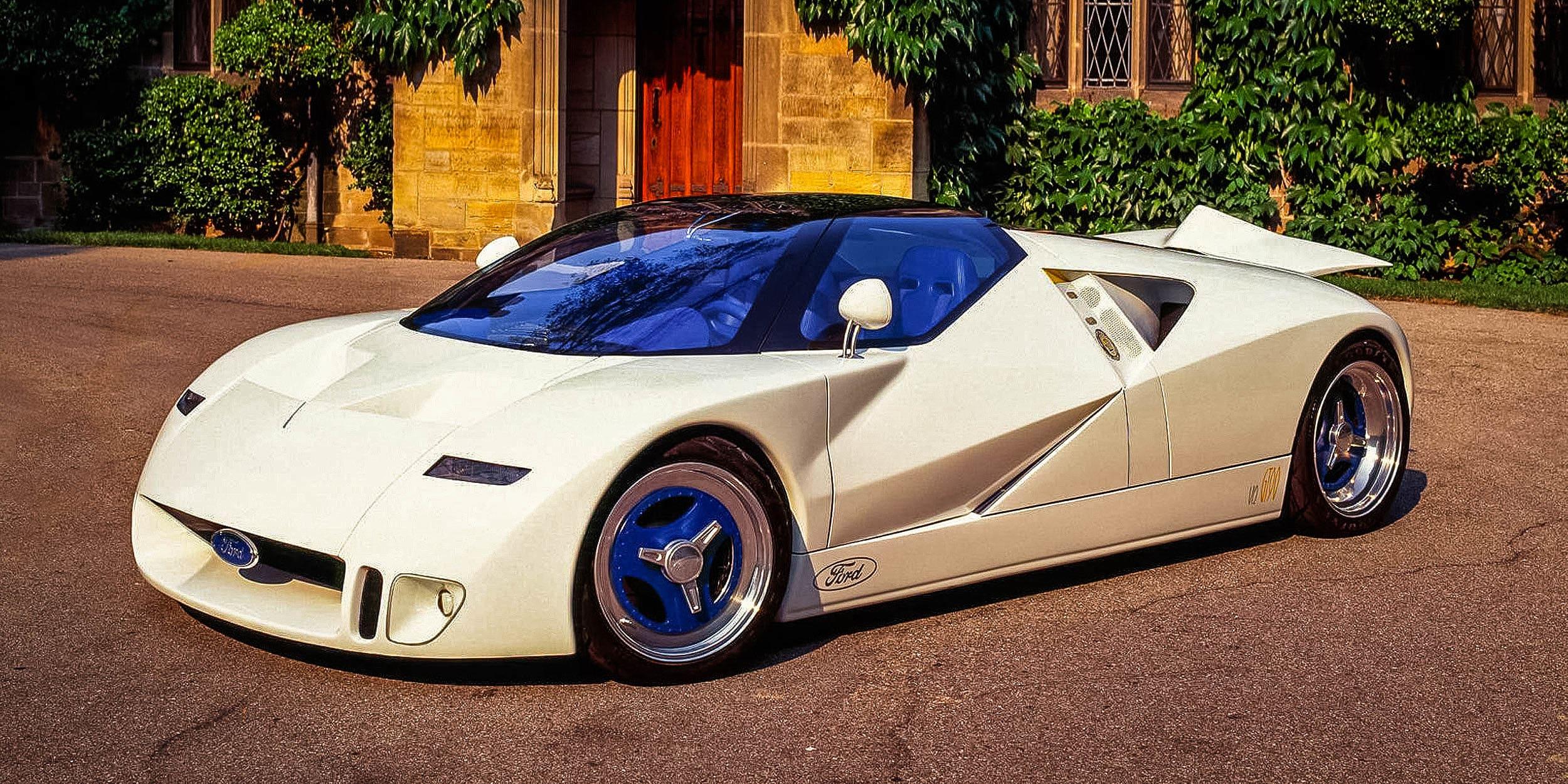 Ford GT90 Concept, l'esseulée