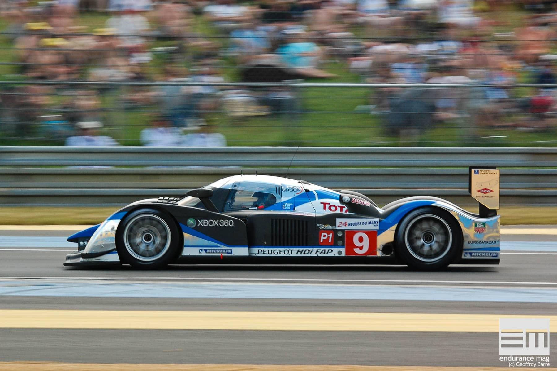 2009, quand Peugeot (re)gagnait les 24 Heures du Mans