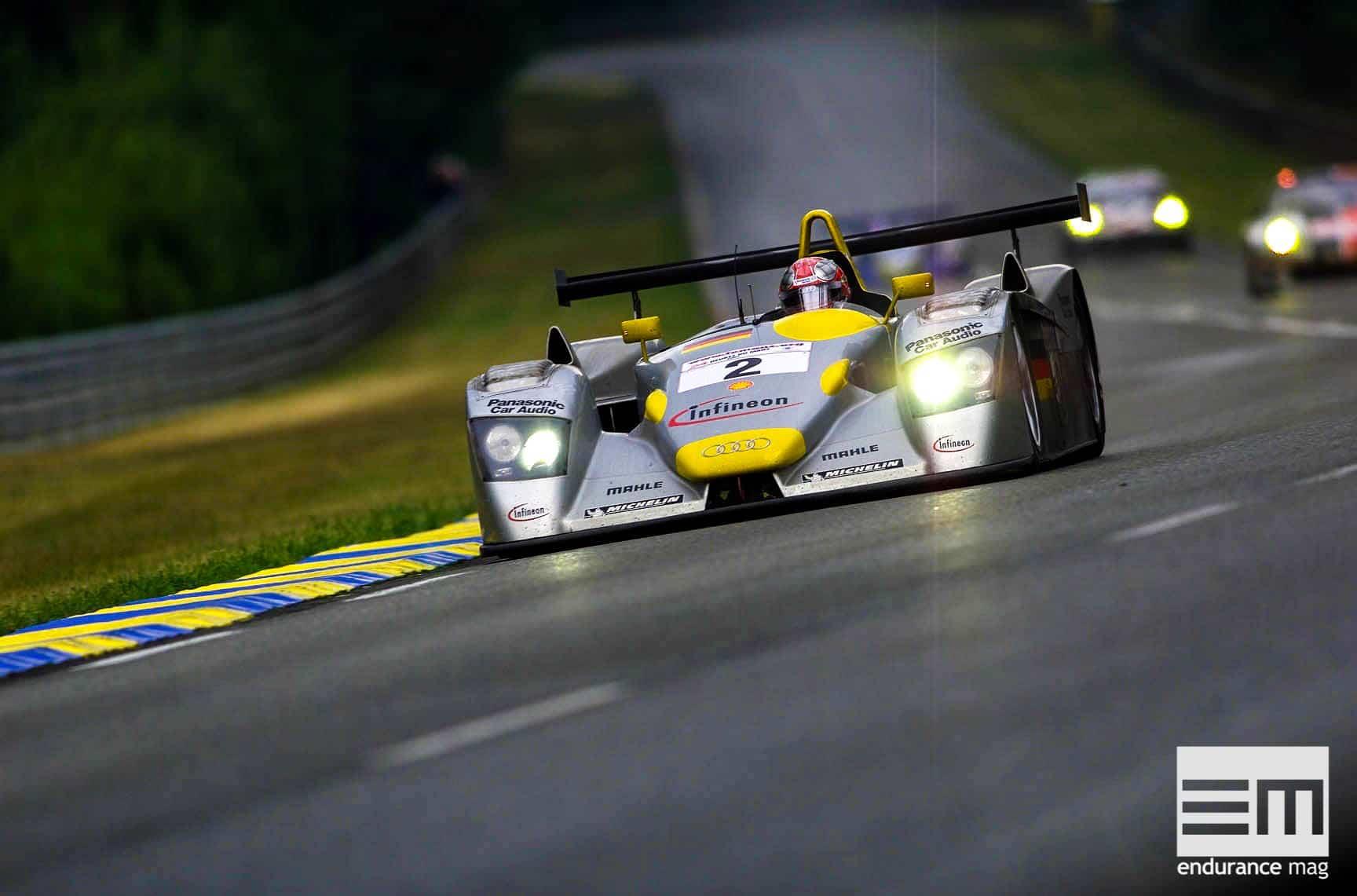 Audi R8 : 2001, la victoire face aux éléments
