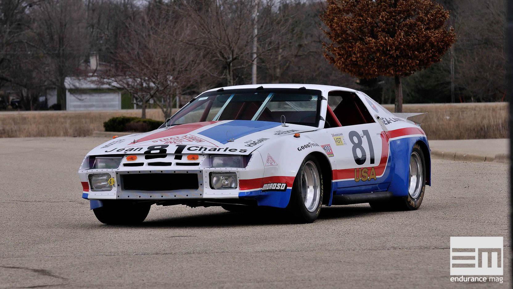 Quand les Camaro voulaient détrôner Porsche au Mans