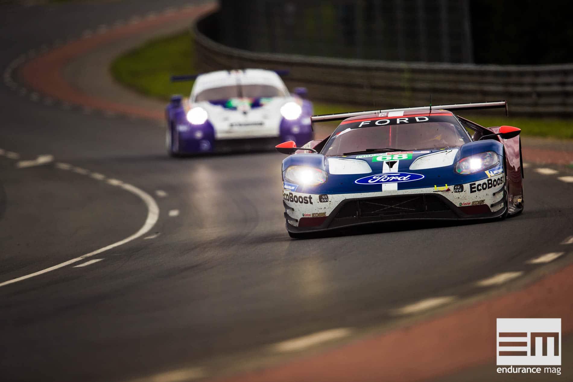 Ford GT : 2018, lutte intense contre Porsche