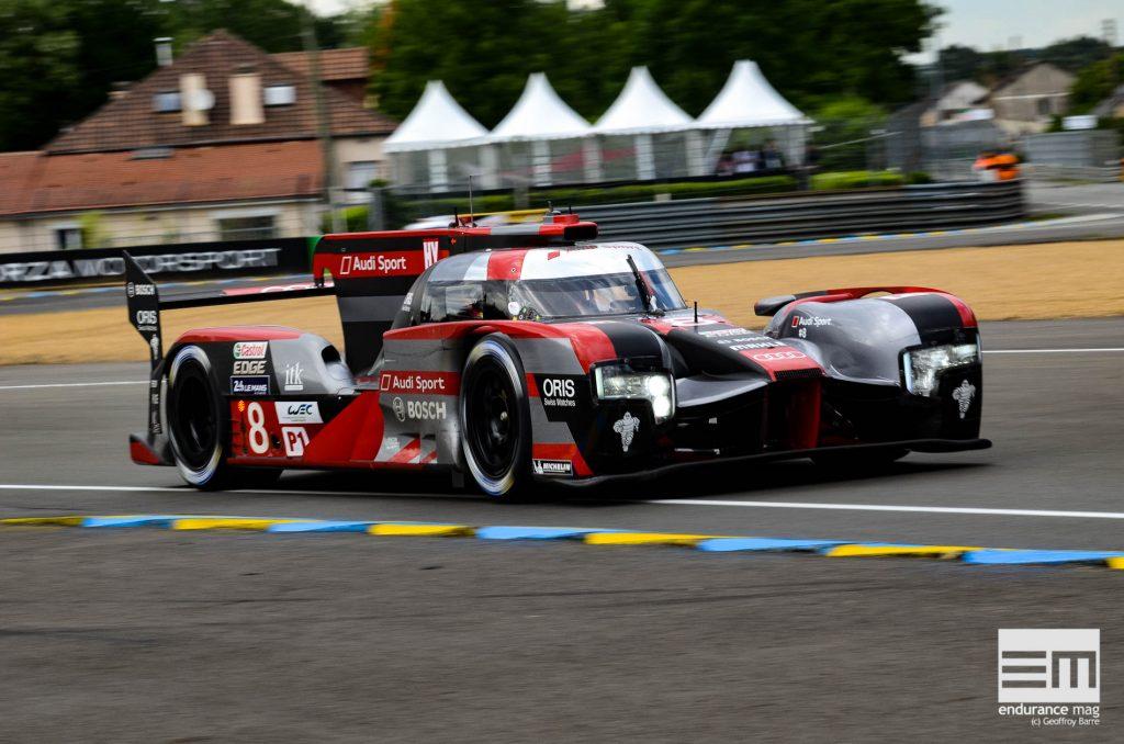 Audi R18 aux 24 Heures du Mans 2016