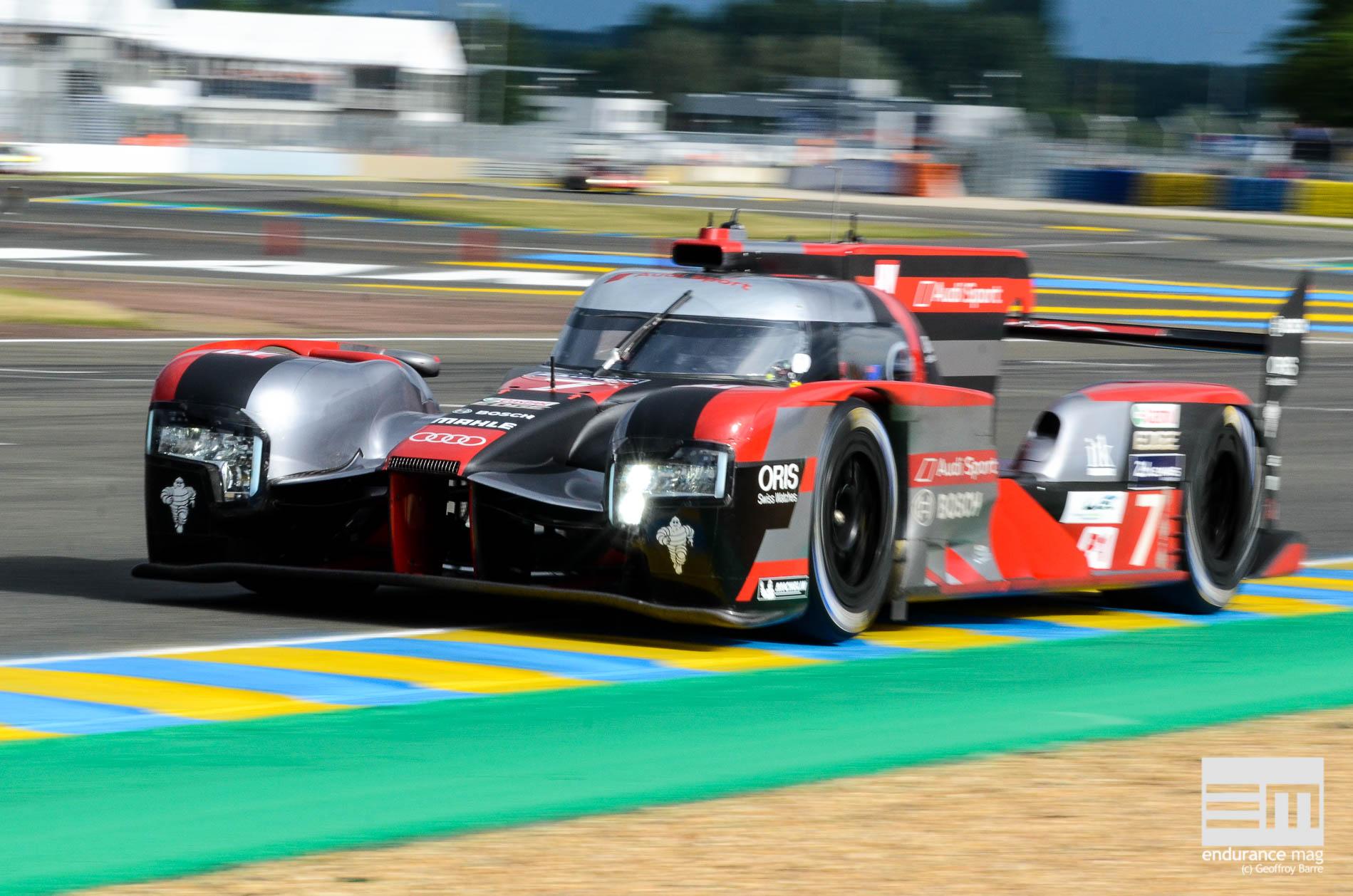 Audi R18, 24 Heures du Mans 2016