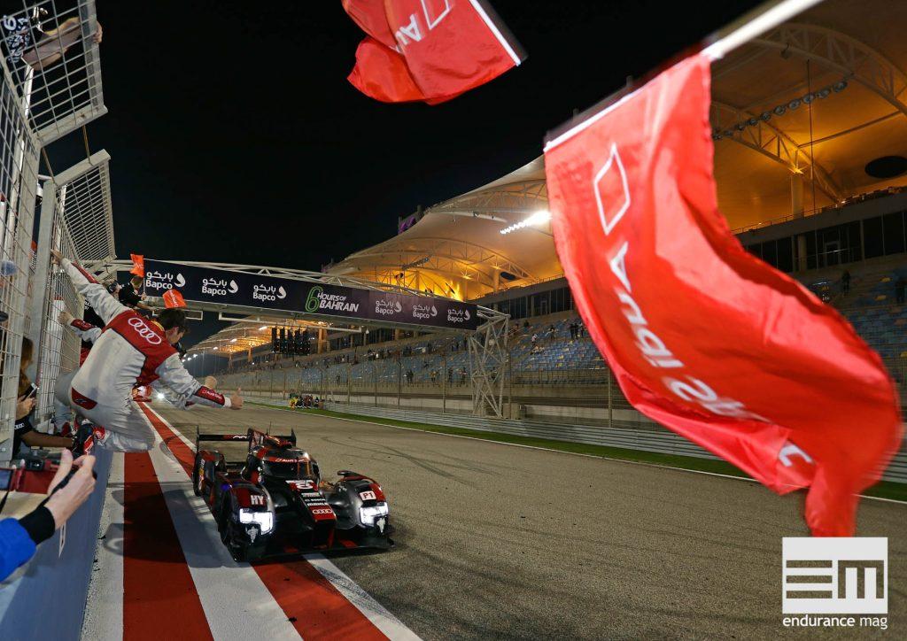Victoire de l'Audi R18 2016 aux 6 Heures de Bahrein