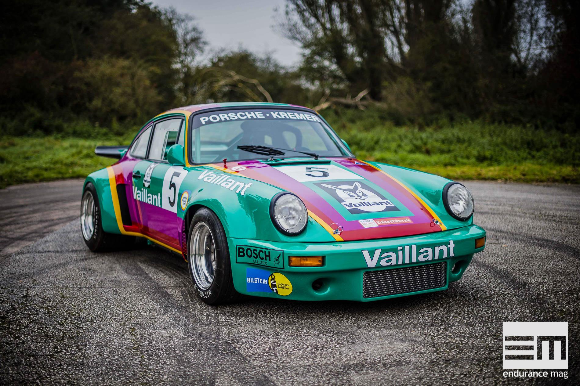 Porsche 911 carrera RSR Replica «Vaillant» 24 Heures du Mans 1975