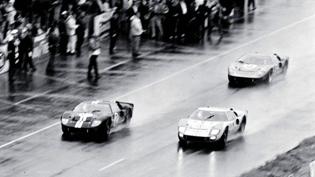 Arrivée Le Mans 66