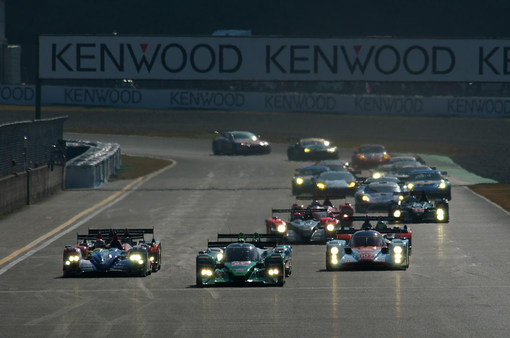 Okayama, seule course de l'Asian Le Mans Series version 2009 - foti.exblog.jp