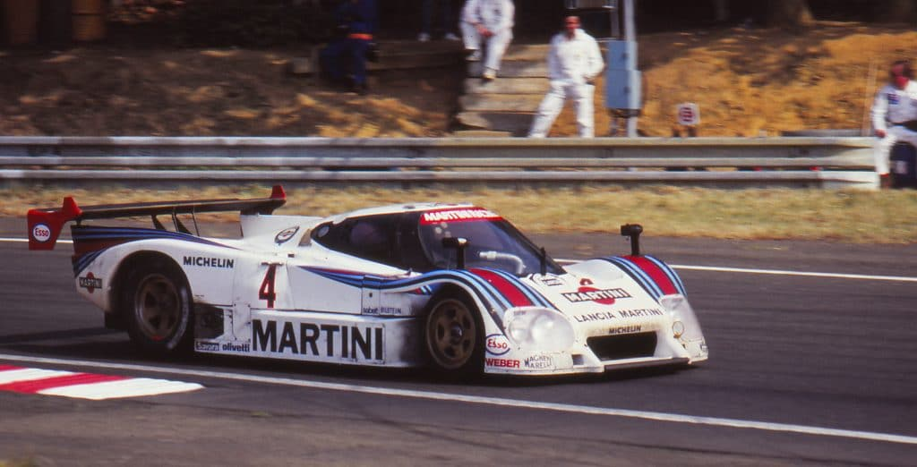Lancia LC2, sublime, 6e au classement final - photo Jerry Lewis-Evans