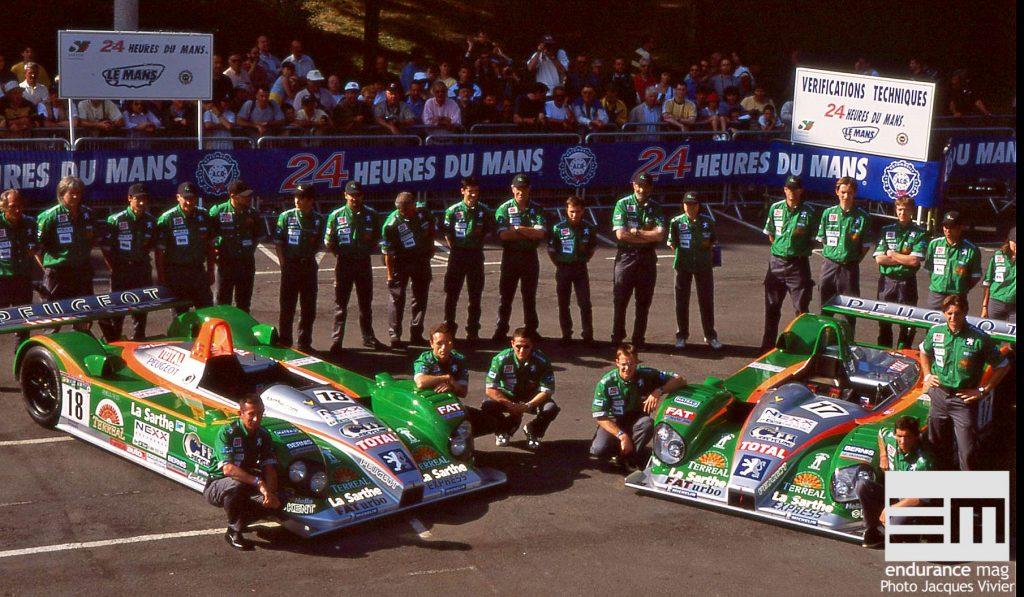 Pescarolo Sport 24 Heures du Mans 2001 au pesage