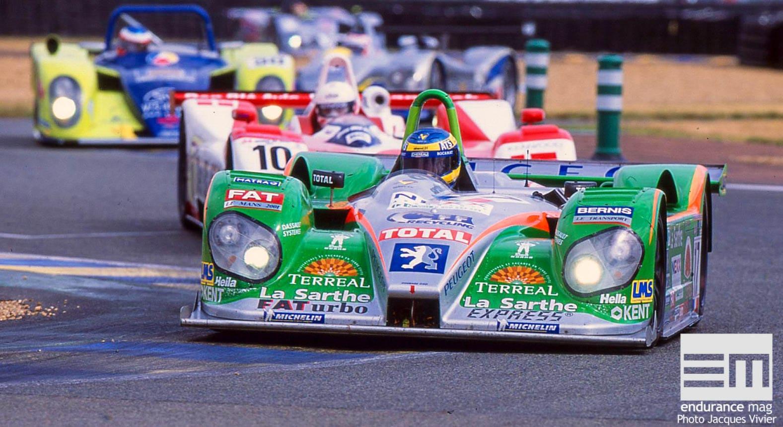 Pescarolo Sport: 2001, espoirs douchés