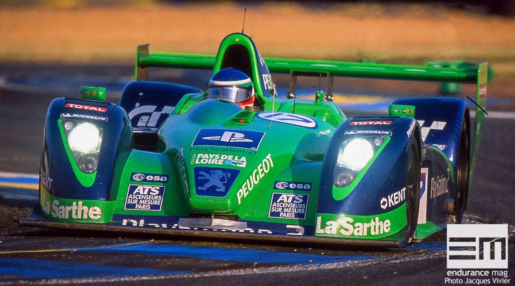 Début de soirée, 24 Heures du Mans 2003 pour Pescarolo Sport