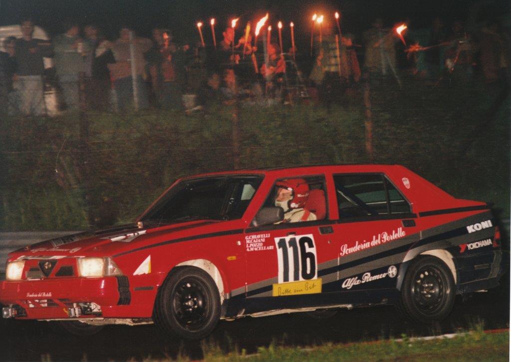 24 Heures du Nürburgring 1992 : ALFA 75 3000 V6 Scuderia del Portello