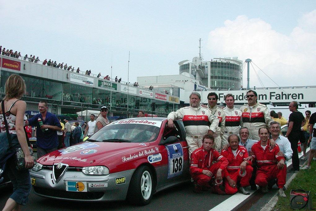 24 Heures du Nürburgring 2003 : ALFA 156 Super Produzione  Scuderia del Portello