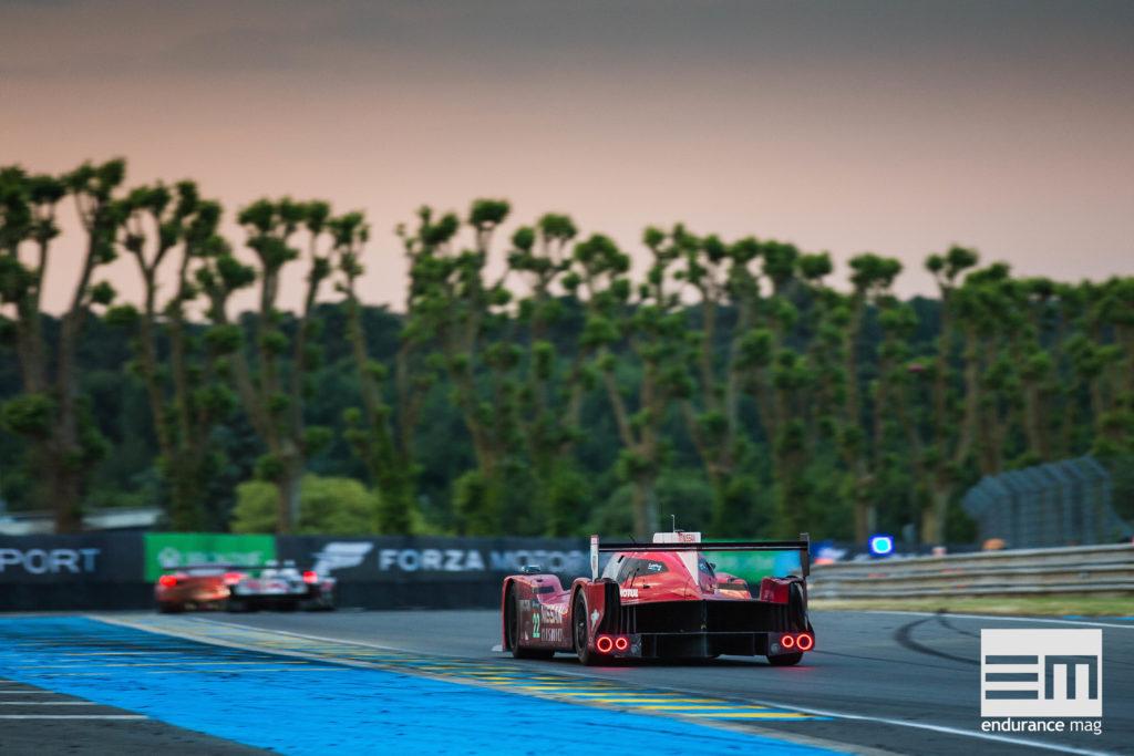 Sortie du Tertre rouge, les Hunaudières commencent - photo Nissan