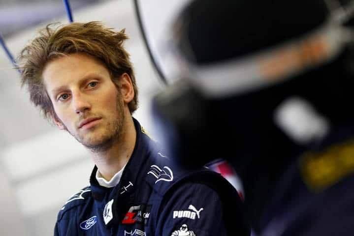Portrait de Romain Grosjean - photo FIA GT