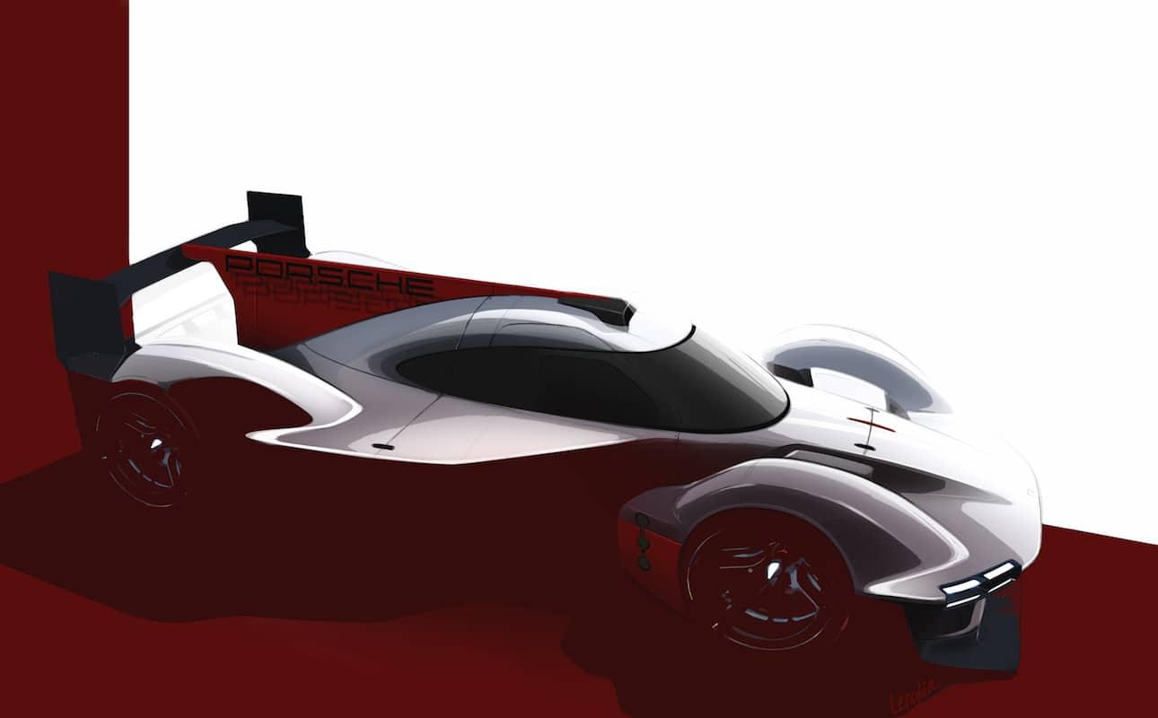 Porsche de retour aux 24 Heures du Mans 2023 avec un prototype LMDh