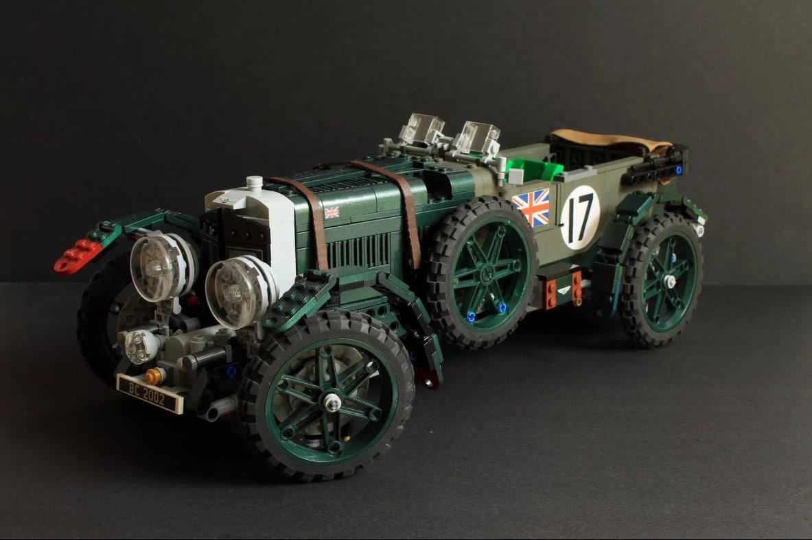 Une Bentley 4½ Litre «Blower» en Lego