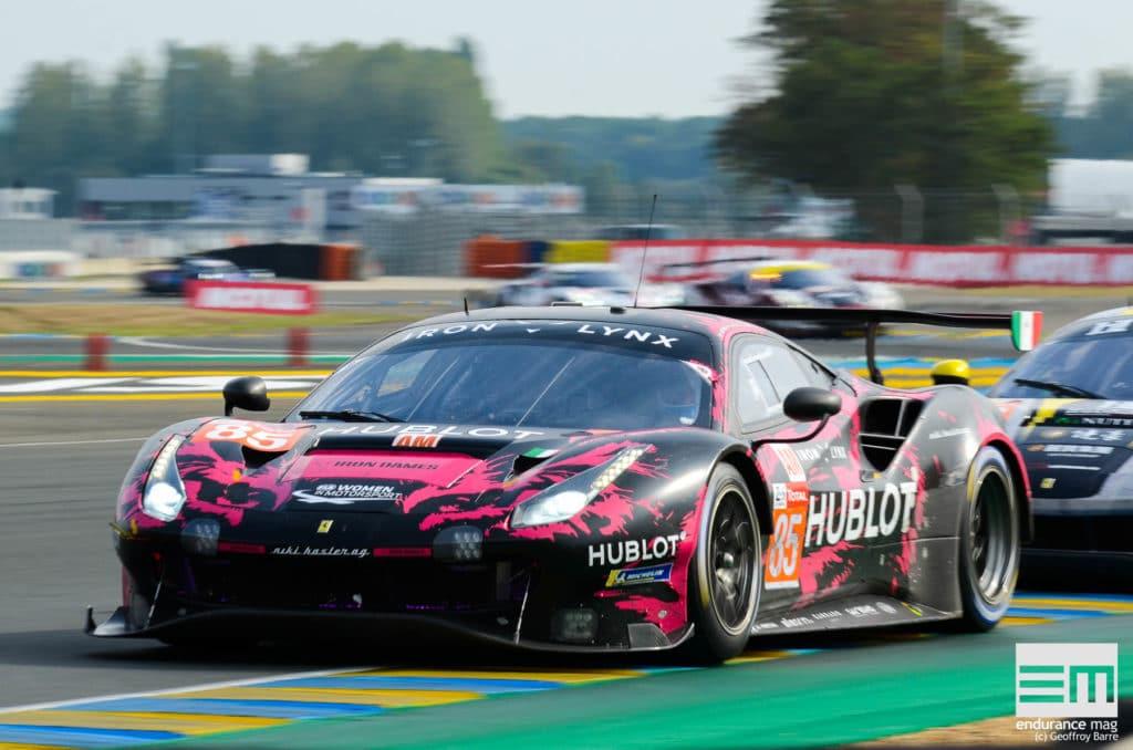Le Mans 2020, Iron Dames - photo Geoffroy Barre