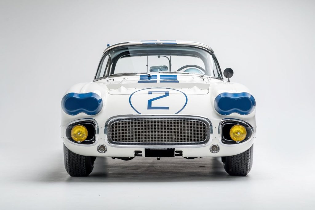 Corvette C1 des 24 Heures du Mans 1960 - photo Bonhams