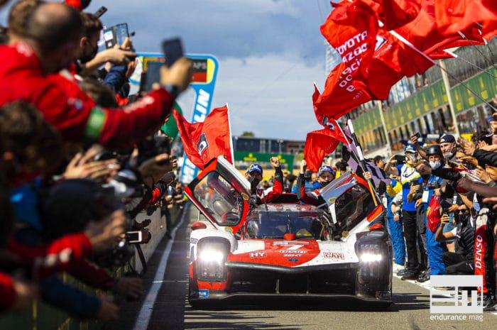 Toyota remporte les 24 Heures du Mans 2021